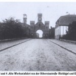 Werkseinfahrt zu Schacht 3/4 ca. 1920