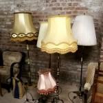 Lampen wie aus Ommas Wohnzimmer: Für künftige Konzerte, Ausstellungen und Lesungen schaffen wir eine gemütliche Atmosphäre